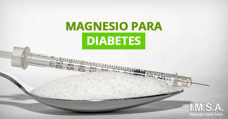 Magnesio para diabetes